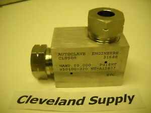 Autoclave Cl9900 Fitting Elbow High Pressure 60 000psi