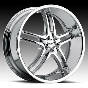 20 Boss 340 Chrome Wheels New Style