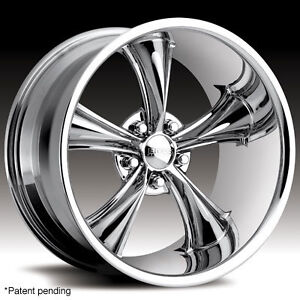 20 Boss 338 Chrome Wheels New Style