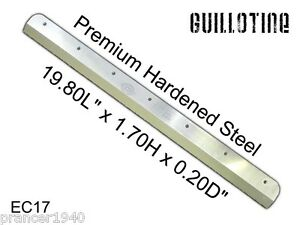 New Cutting Knife Blade For Guillotine Ec17 Electric Paper Cutter