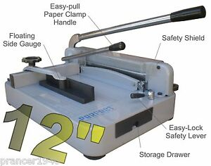 Best Professional Stack Paper Cutter Perfect G12 Pro