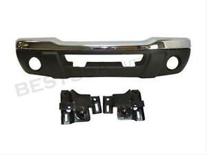 For 01 03 Ford Ranger Xlt 4wd Off Road Front Bumper Chr 4pc