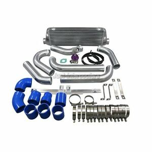 Cxracing Intercooler 2 5 Piping Bov Kit For 05 07 Mazdaspeed6 2 3l Blue Hoses