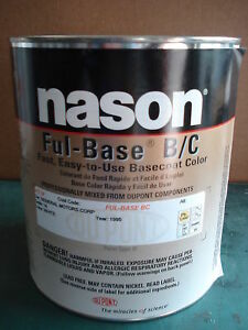 Auto Body Paint Nason dupont Fleet White Basecoat Clear