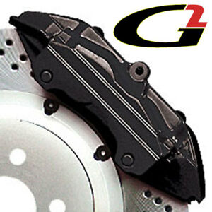 Black G2 Brake Caliper Paint Epoxy Style Kit Free Ship