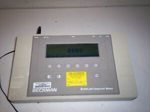 Good Used Beckman 660 Ph temp mv Meter 511220