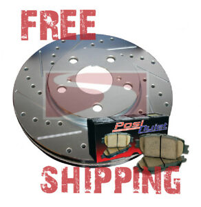 Mustang Cobra 1993 Front Brake Disc Rotors Pads