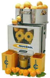 Frucosol F 50 a Automatic Commercial Orange And Citrus Juicer Nsf Certified