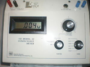 Ysi Conductance Meter Model 32