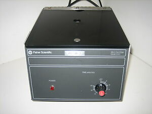 Good Used Fisher Scientific Micro centrifuge 235c 4 978 235b 4978235b 115v 5 3a