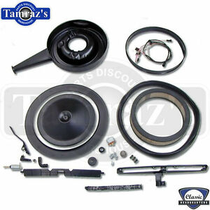 1969 Camaro Cowl Induction Air Cleaner Set Up For 302 Models