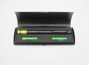 Atlasnova All Black Green Laser Pointer With Apc 1mw Made In Taiwan
