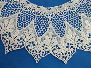 Vintage Antique Schiffli Guipure Lace Collar 52 Matching Collars Available