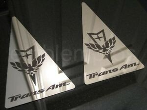 Gm Licensed 93 02 Trans Am Sail Panel Overlays Mirror Stainless Steel