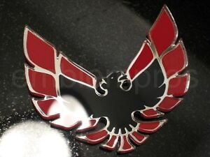 Gm Licensed Retro Firebird Emblem Mirror Acrylic Customize Colors