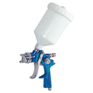 Auto Body Shop Paint Hvlp Gravity Feed Spray Gun 1 4mm With 600ml Cup Car Paint