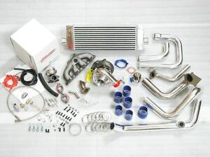 Civic Integra B16 B18 B20 T3 Manifold Turbonetics T3 t4 Turbo Charger Kit