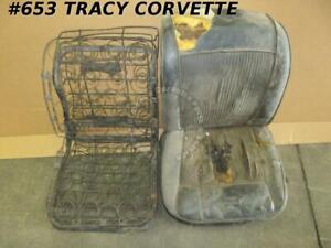 1961 1962 Corvette Seat Frames And Springs Used Originals For The Pair