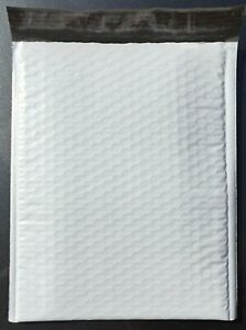 25 6 12 5 X 19 Poly Bubble Lined Mailer Envelopes Self Seal Free Shipping