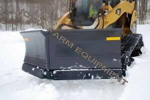 Ffc 108 Skid Steer Quick Attach 5 Way v Plow v Blade Snow Blade snow Plow