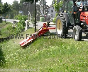 Flail Ditch Bank Mower maschio Giraffa 210si 84 cut 70 120hp Adjust On The Fly