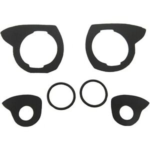 1954 56 Buick Cadillac 2dr Hdtp Convt Outside Door Handle Gasket Set 6 Pcs