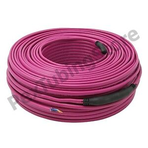 51 65 Sqft Electric Radiant Floor Heating Cable 196 Ft Length 120v 1080w