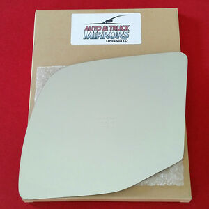 New Mirror Glass Adhesive 92 07 Ford E150 Econoline Van Driver Left Side Power