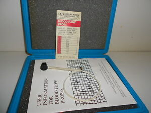 Good Used Carolina Medical Blood Flow Probe Ep102 5sc Mini Psp Conn 2 5mm Circle