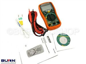 Extech Ex330 Autoranging Voltage Detector Multimeter 12 Function Non contact