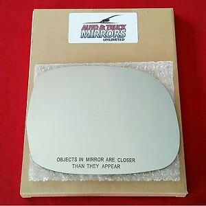 New Mirror Glass Toyota Sequoia Sr5 Tundra Passenger Right Side Rh Fast Ship