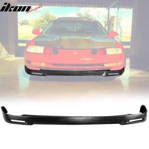 Fits 92 96 Honda Prelude P1 Racing Style Front Bumper Lip Unpainted Pu