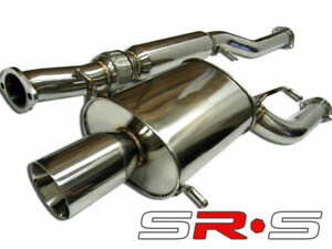Wrx Catback 02 07 05 06 Subaru Sti Srs Type re Exhaust Rs Model Only