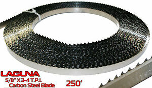 5 8 Shear Force Bandsaw Blade Coil 250 Resaw Non Ferrous Metal Wood Band Saw