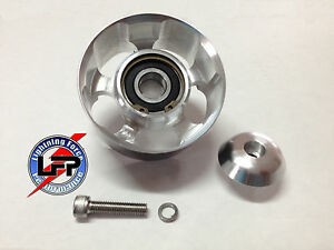 Svt Mustang Cobra Lightning Shelby 90mm Double Bearing 10 Rib Idler Pulley New