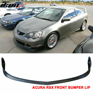 Fits 02 04 Acura Rsx Dc5 2dr Coupe Tr Style Type R Front Bumper Lip Spoiler Pu