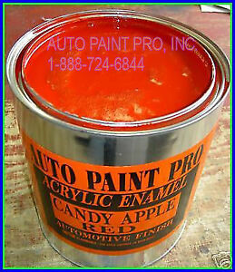 Candy Apple Red Code t Ford Auto Body Shop Restoration Paint Enamel
