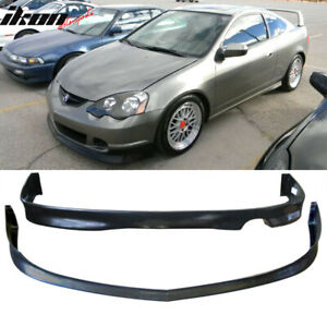 Fits 02 04 Acura Rsx Dc5 Poly Front Bumper Lip Rear Bumper Lip Pu Fits Acura Rsx