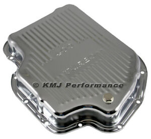 Gm Chevy Turbo 400 Chrome Automatic Transmission Pan Stock Capacity Th400