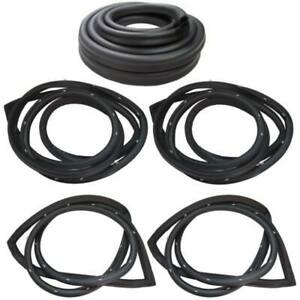 Weatherstrip Kit Compatible With 1976 1977 Chrysler Dodge Plymouth Sedans