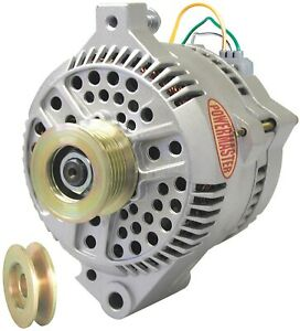 Powermaster 47759 Ford 200a 3g Large Alternator W Wiring Harness Natural