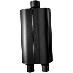 Flowmaster 524553 Super 50 Series Series Muffler 2 25 Dual In 3 Center Out
