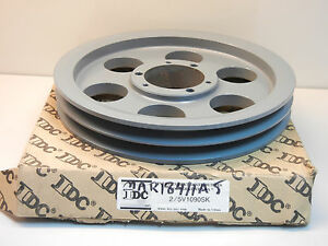 Idc 2 5v1090sk New 2 Groove Pulley Wheel 25v1090sk