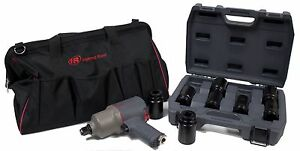 Ingersoll Rand 2145qimax New Quiet 3 4 Impact Wrench Kit