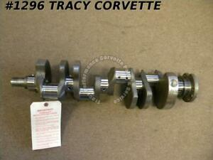1967 Chevy 302 Z28 3876764 Forged Small Journal Crankshaft Fresh Grind 010 010