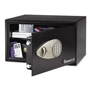 Sentry Electronic Lock Security Safe Black Senx105