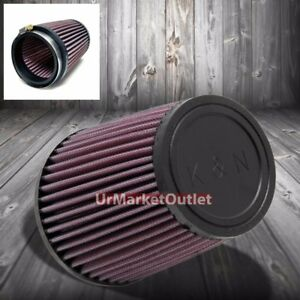 K n 3 5 89 Mm Universal Rubber Cone Centered Round Tapered Air Filter Ru 3550