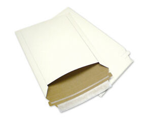 300 7x9 Rigid Photo Mailers Paperboard Envelopes Recycled Shipping Supplies