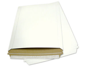 100 12 75x15 Rigid Photo document Paper Board Mailers Envelopes Expedited Ship