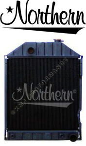 Northern 219534 Ford 6810 7610 7810 Tractor Radiator W Cooler E7nn8005bb15m